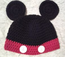 Mickey Hat by sjames9988
