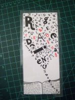 'Reading' Bookmark by Groovygirlsuzy17
