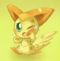 Victini by Pace-Eterna