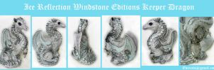 Ice Reflection Windstone Editions Keeper Dragon by Eviecats