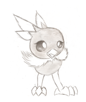 Torchic by Chardove