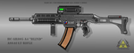 Fictional Firearm: HC-AR805 A4 Assault Rifle by CzechBiohazard