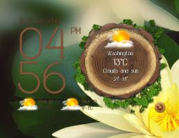 Lenovo Forest Style Widget for xwidget by jimking