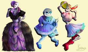 Undertale: Beauty Pageant by PhantomReturn