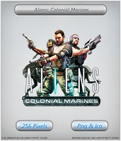 Aliens Colonial Marines - Icon by Crussong