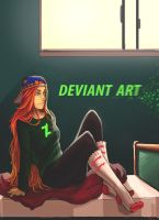 ALWAYS BEEN A DEVIANT ART KIND OF GAL by CerboPhix