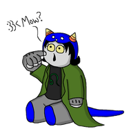 Simon's Nepeta by SpiderPope