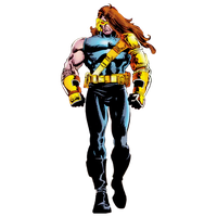 Age of apocalypse Cyclops render by JayC79
