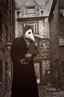 Plague doctor by Zluvka