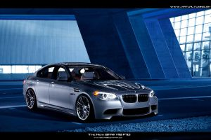 BMW 5 F10 by hesoyam25
