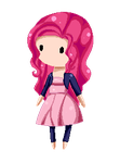 Pinkie Pixel Baby by Candycide