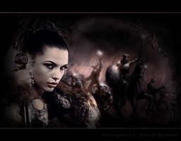 viking impression I - the battle by Lhianne