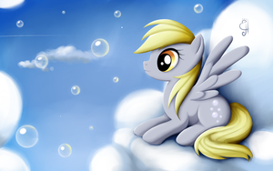 Derpy Hooves by Exceru-Hensggott