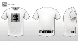Barcode T-Shirt by Spightful
