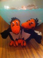 Heckle And Jeckle Doll by alillama88
