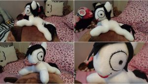 Jeff The killer Plush Pony by m-sharlotte