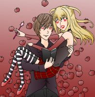 Light and Misa by xxx-TeddyBear-xxx