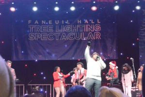 Boston's Faneuil Hall Concert/ Tree Lighting 3 by Miss-Tbones