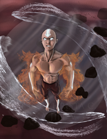 Avatar Aang by JillValentine89