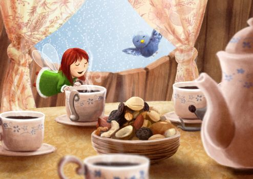 The sweet smell of breakfast by Ansheen