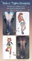 Starry Tights Twitter Giveaway by CrystalCurtis