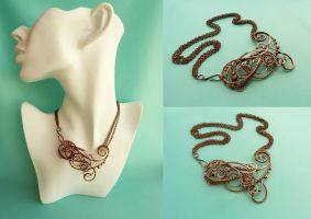 Necklace Reicha by UrsulaOT
