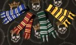 Harry Potter Hogwarts Scraves by EmbersForAmber