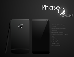 Phase Phone Hardware Sketch by TheTechnikStudios