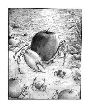 Illustration 1-Crabapples by Magamish