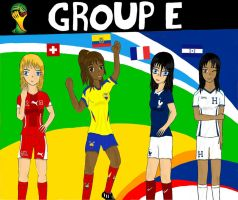 Worldcup Brazil 2014 Group E by SILENTWARRIOR3800