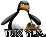 Tux Yea. by tora-no-andoresu
