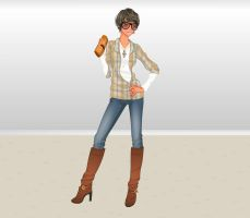 Hot Trends collection fashion by Brandee-Ssj-Doll