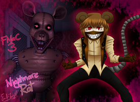 FNaC 3: Nightmare Rat by Emil-Inze
