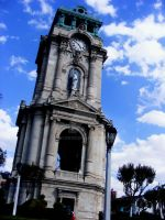 Pachuca's Monumental Clock by skylon182