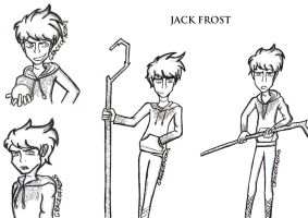 JACK FROST SKETCHDUMP by loveangelmusic