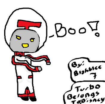 Turbo go boo! by Blahblee7