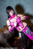 ColossalCon 2015 - Mileena by VideoGameStupid