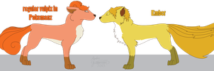 The Vulpix of Pokemanz by TheAmbears