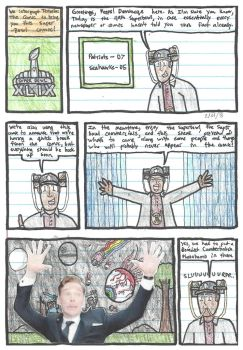 Terraria: The Comic: Superbowl 49 Half-Time Comic by DWestmoore