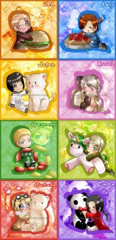 Hetalia colection by nennisita1234