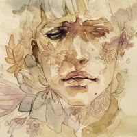 watercolor by limdais