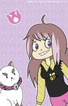Bizarro Bee and Puppycat by starlite-decay