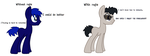 Rudy - With and without refs by Pixillon12Donuts