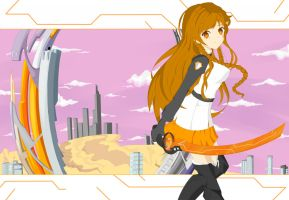 Mirai Suenaga by Bubble-Crown