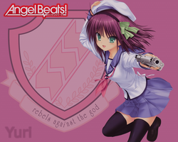 Angel Beats Wallpaper: Yuri by thisismyaccountokay
