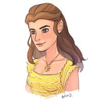 Belle Sketch by Kimopoleis
