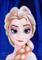 Elsa from Frozen by alemarques21