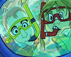snorkel buddies by dobie
