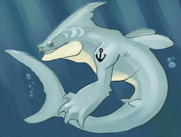 I'M A SHAAARK by angelaART