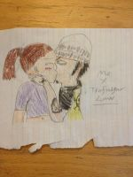 Law and me kissing by ABURAMEFANFOREVER